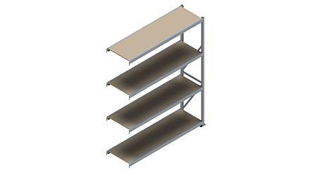 Grootvakstelling HSG 3000 - 2500 x 2043 x 600 - Verstelbare legborden van hout of staal  | Magazijn.nl - De logistieke webshop van Nederland