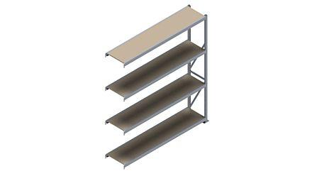 Grootvakstelling HSG 3000 - 2500 x 2293 x 500 - Verstelbare legborden van hout of staal  | Magazijn.nl - De logistieke webshop van Nederland
