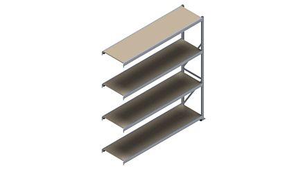 Grootvakstelling HSG 3000 - 2500 x 2293 x 600 - Verstelbare legborden van hout of staal  | Magazijn.nl - De logistieke webshop van Nederland