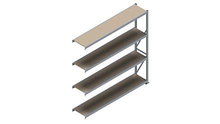 Grootvakstelling HSG 3000 - 2500 x 2543 x 500 - Verstelbare legborden van hout of staal    Magazijn.nl - De logistieke webshop van Nederland
