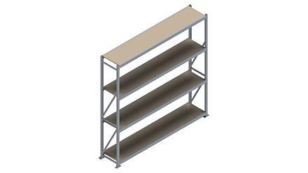 Grootvakstelling HSG 3000 - 2500 x 2586 x 500 - Verstelbare legborden van hout of staal  | Magazijn.nl - De logistieke webshop van Nederland