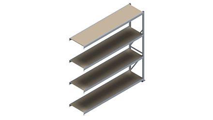 Grootvakstelling HSG 3000 - 2500 x 2543 x 600 - Verstelbare legborden van hout of staal    Magazijn.nl - De logistieke webshop van Nederland