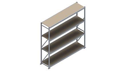 Grootvakstelling HSG 3000 - 2500 x 2586 x 600 - Verstelbare legborden van hout of staal  | Magazijn.nl - De logistieke webshop van Nederland