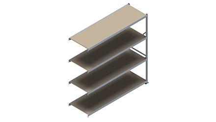 Grootvakstelling HSG 3000 - 2500 x 2543 x 800 - Verstelbare legborden van hout of staal  | Magazijn.nl - De logistieke webshop van Nederland