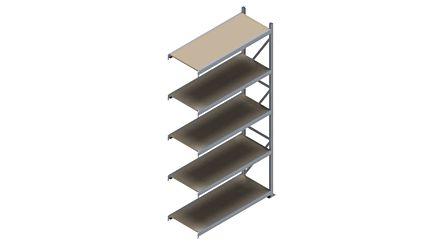 Grootvakstelling HSG 3000 - 3000 x 1543 x 600 - Verstelbare legborden van hout of staal    Magazijn.nl - De logistieke webshop van Nederland