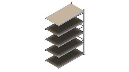 Grootvakstelling HSG 3000 - 3000 x 2043 x 1000 - Verstelbare legborden van hout of staal  | Magazijn.nl - De logistieke webshop van Nederland
