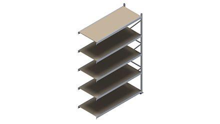 Grootvakstelling HSG 3000 - 3000 x 2043 x 800 - Verstelbare legborden van hout of staal  | Magazijn.nl - De logistieke webshop van Nederland