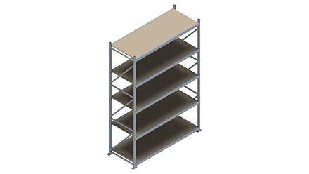 Grootvakstelling HSG 3000 - 3000 x 2086 x 800 - Verstelbare legborden van hout of staal    Magazijn.nl - De logistieke webshop van Nederland