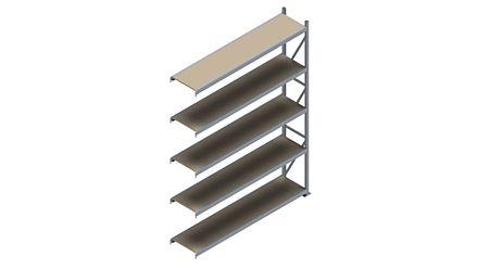 Grootvakstelling HSG 3000 - 3000 x 2293 x 500 - Verstelbare legborden van hout of staal    Magazijn.nl - De logistieke webshop van Nederland