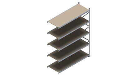 Grootvakstelling HSG 3000 - 3000 x 2293 x 800 - Verstelbare legborden van hout of staal  | Magazijn.nl - De logistieke webshop van Nederland