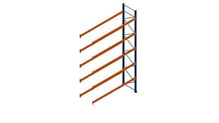 Palletstelling 3 meter met 2 liggerparen voor 9 pallets