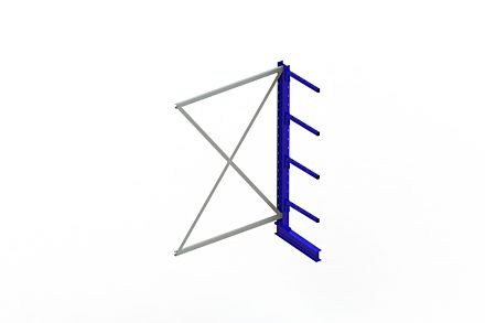 Draagarmstelling Light - 2000 x 1330 x 500 - Aanbouw