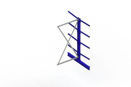Draagarmstelling Light - 2000 x 1030 x 1420 - Aanbouw