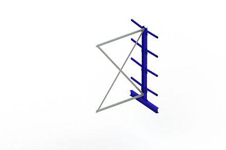 Draagarmstelling Light - 2000 x 1330 x 1020 - Aanbouw