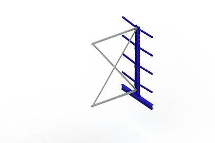 Draagarmstelling Light - 2000 x 1330 x 1220 - Aanbouw