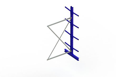 Draagarmstelling Light - 2500x 1330 x 1020 - Aanbouw