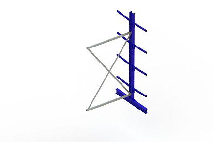 Draagarmstelling Light - 2500 x 1330 x 1220 - Aanbouw