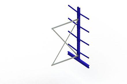 Draagarmstelling Light - 2500 x 1330 x 1420 - Aanbouw