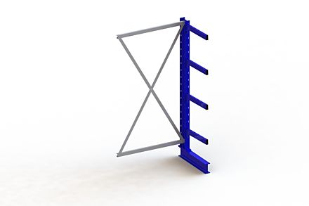 Draagarmstelling Medium - 2000 x 1030 x 500 - Aanbouw