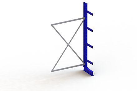 Draagarmstelling Medium - 2500 x 1330 x 400 - Aanbouw