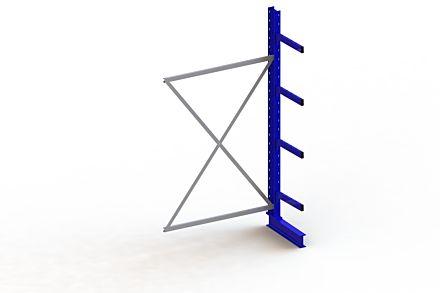 Draagarmstelling Medium - 2500 x 1330 x 500 - Aanbouw