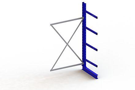 Draagarmstelling Medium - 2500 x 1330 x 800 - Aanbouw
