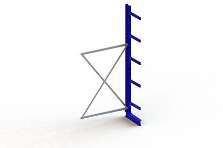 Draagarmstelling Medium - 3000 x 1330 x 500 - Aanbouw