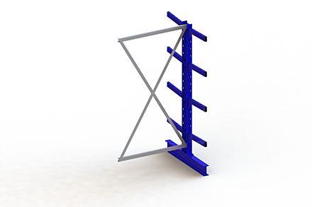 Draagarmstelling Medium - 2000 x 1030 x 1040 - Aanbouw
