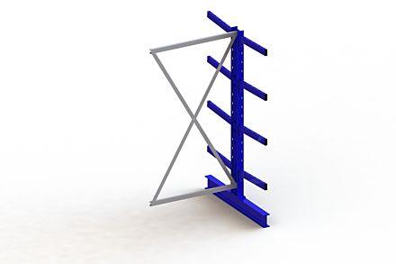 Draagarmstelling Medium - 2000 x 1030 x 1240 - Aanbouw