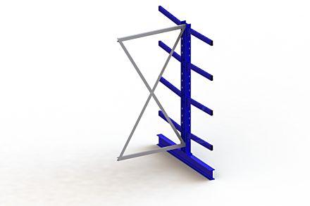 Draagarmstelling Medium - 2000 x 1030 x 1440 - Aanbouw