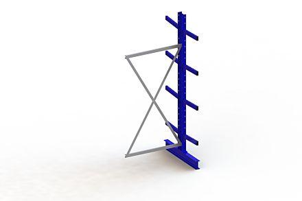 Draagarmstelling Medium - 2500 x 1030 x 1040 - Aanbouw