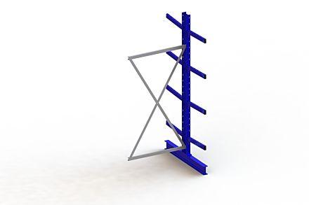 Draagarmstelling Medium - 2500 x 1030 x 1240 - Aanbouw