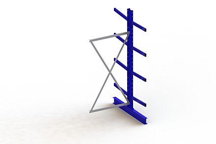 Draagarmstelling Medium - 2500 x 1030 x 1440 - Aanbouw