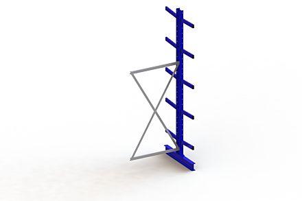 Draagarmstelling Medium - 3000 x 1030 x 1040 - Aanbouw