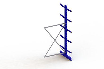 Draagarmstelling Medium - 3000 x 1330 x 1240 - Aanbouw