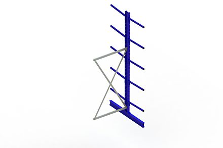 Draagarmstelling Light - 3000 x 1030 x 1420 - Aanbouw