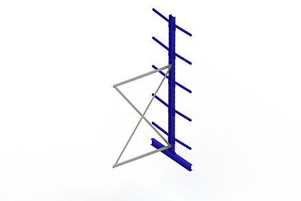 Draagarmstelling Light - 3000 x 1330 x 1220 - Aanbouw