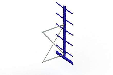 Draagarmstelling Light - 3000 x 1330 x 1420 - Aanbouw