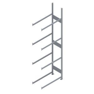 Aanbouwstelling voor 4x4 = 16 autobanden met een maximale breedte van 195 mm